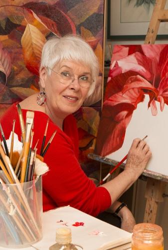 Geneviève Enot, Artiste, Peintre